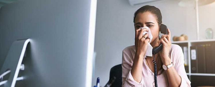 Office Etiquette for Cold and Flu Season